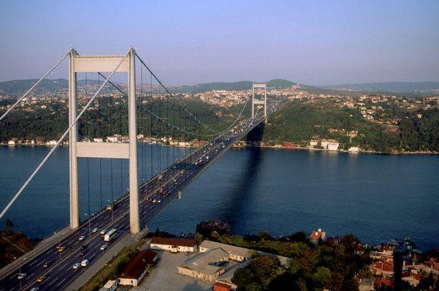 The Bosphorus Bridge